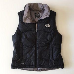The North Face Black Vest 550 Goose Down Size M